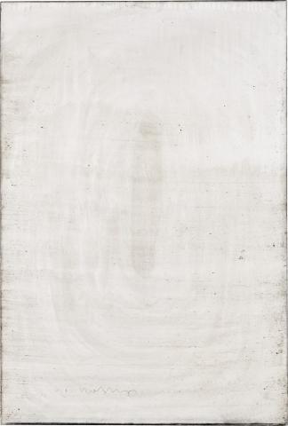 Ashes to Ashes 2 // Asche auf Leinwand // 150 x 100 cm // 2011