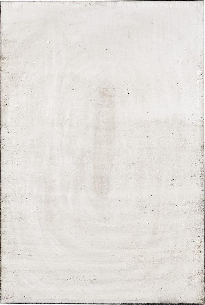 Ashes to Ashes 2 // Asche in Eitempera auf Leinwand // 150 x 100 cm // 2011