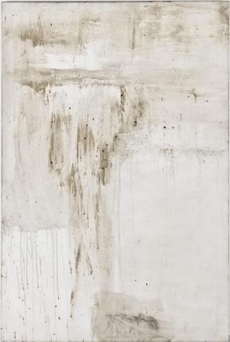 Ashes to Ashes 18  // Asche auf Leinwand // 150 x 100 cm // 2011