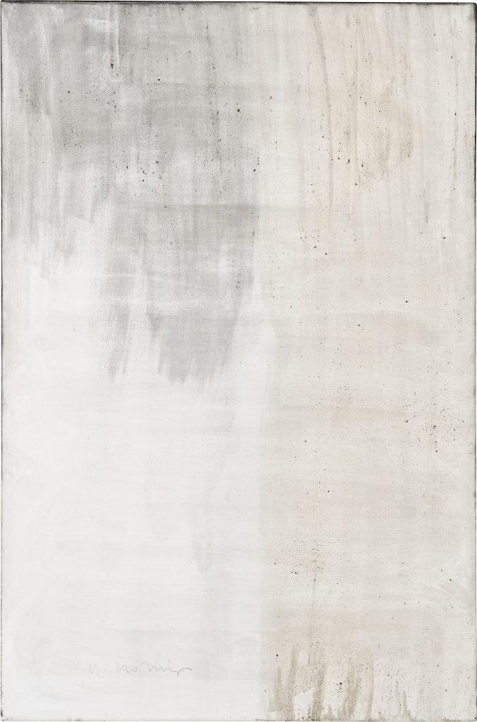 Ashes to Ashes 10  // Asche in Eitempera auf Leinwand // 150 x 100 cm // 2011