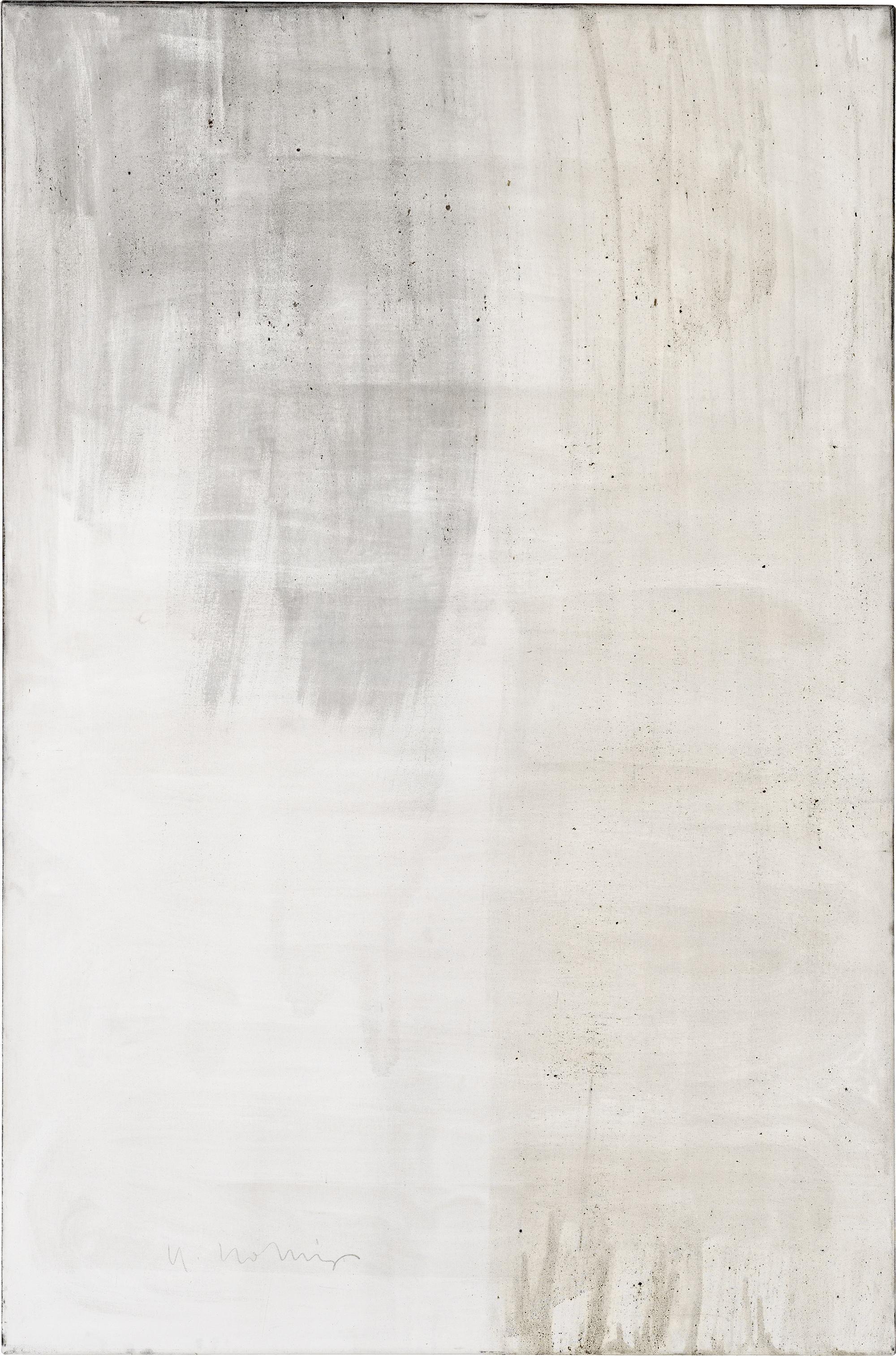 Ashes to Ashes 10  // Asche auf Leinwand // 150 x 100 cm // 2011