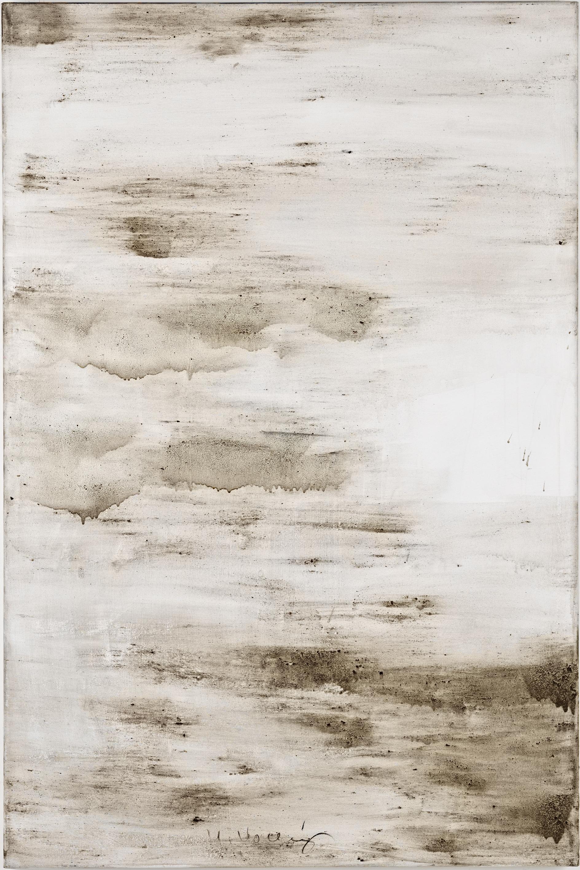 Ashes to Ashes 16  // Asche auf Leinwand // 150 x 100 cm // 2011