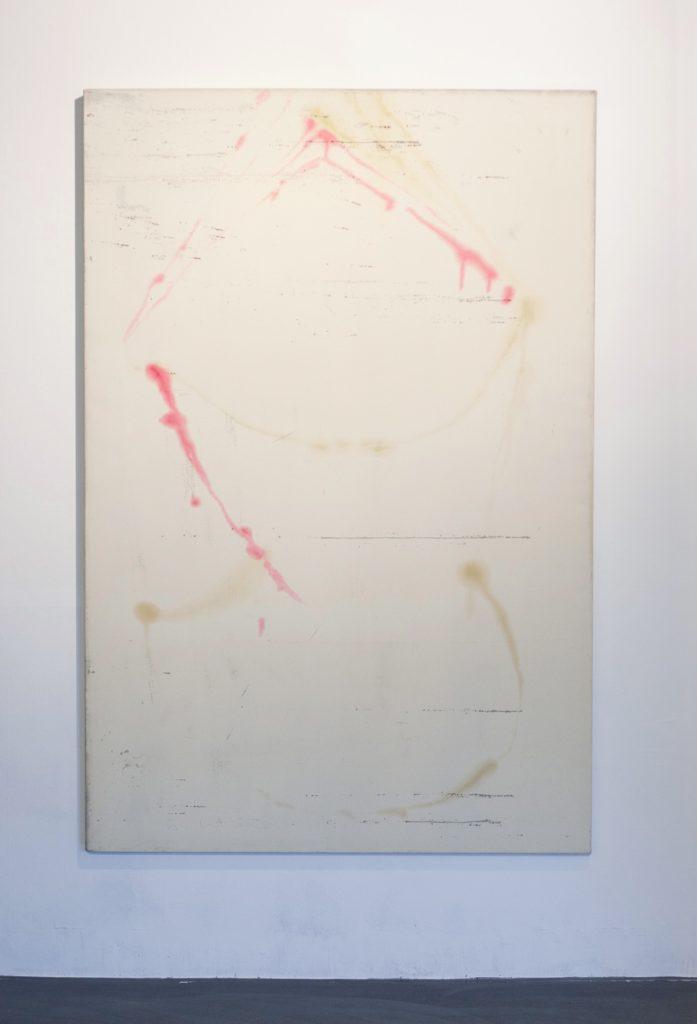 Ausstellungsansicht 3 // Ventilabo // Transfer // 180 x 120 cm // Gallery KM0 // 2017