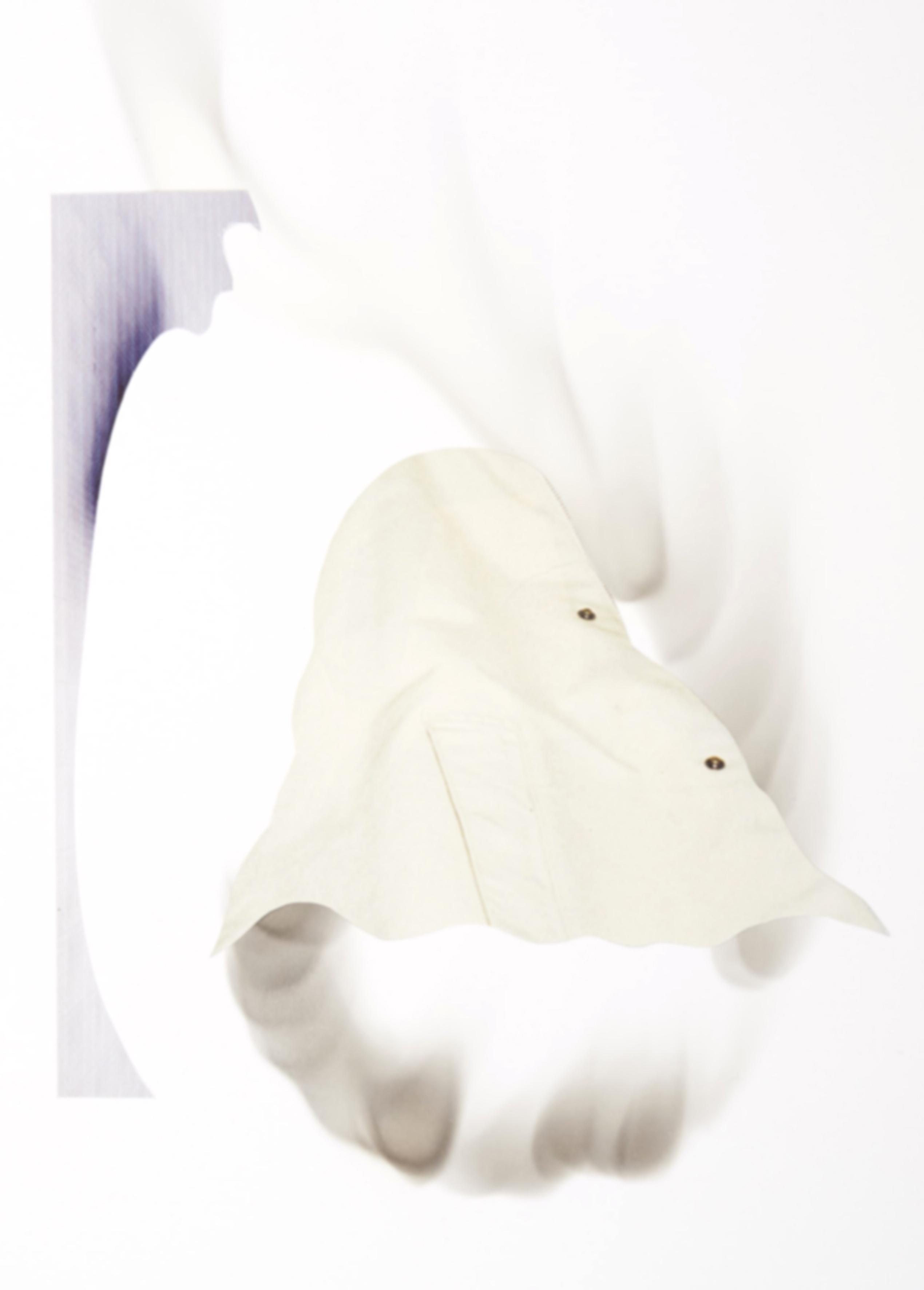 Fantôme Excepetionnel 4 // Collage mit Ruß // 30 x 21 cm // 2018