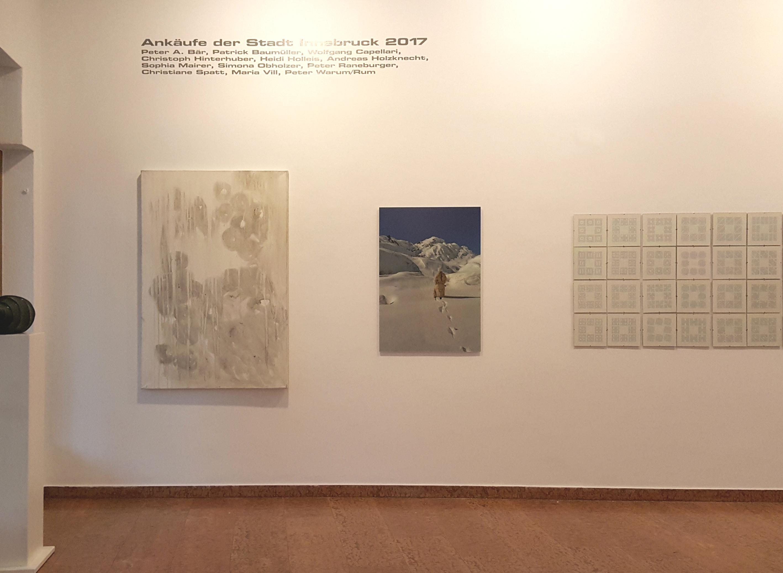 Andechsgalerie // Kunstankäufe der Stadt Innsbruck // 2017