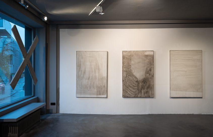 Ausstellungsansicht 2 // Ventilabo // Gallery KM0 // 2017