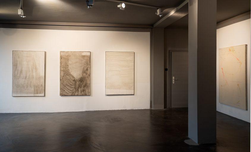Ausstellungsansicht 3 // Ventilabo // Gallery KM0 // 2017