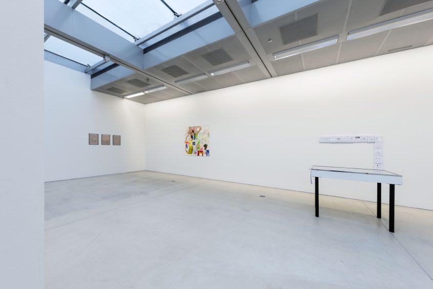 Ausstellungsansicht 1 // 35. Österreichischer Grafikwettbewerb //  Taxispalais Kunsthalle Tirol // 2017