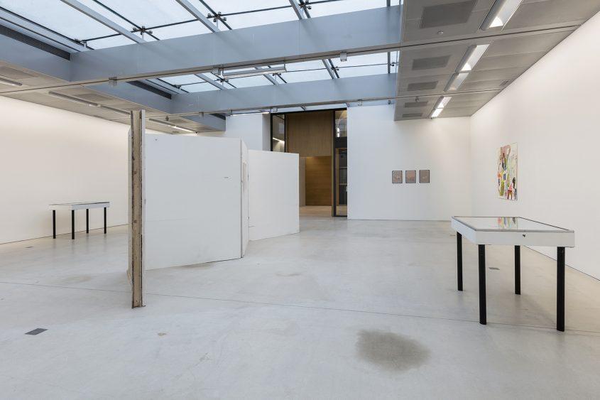 Ausstellungsansicht 2 // 35. Österreichischer Grafikwettbewerb //  Taxispalais Kunsthalle Tirol // 2017
