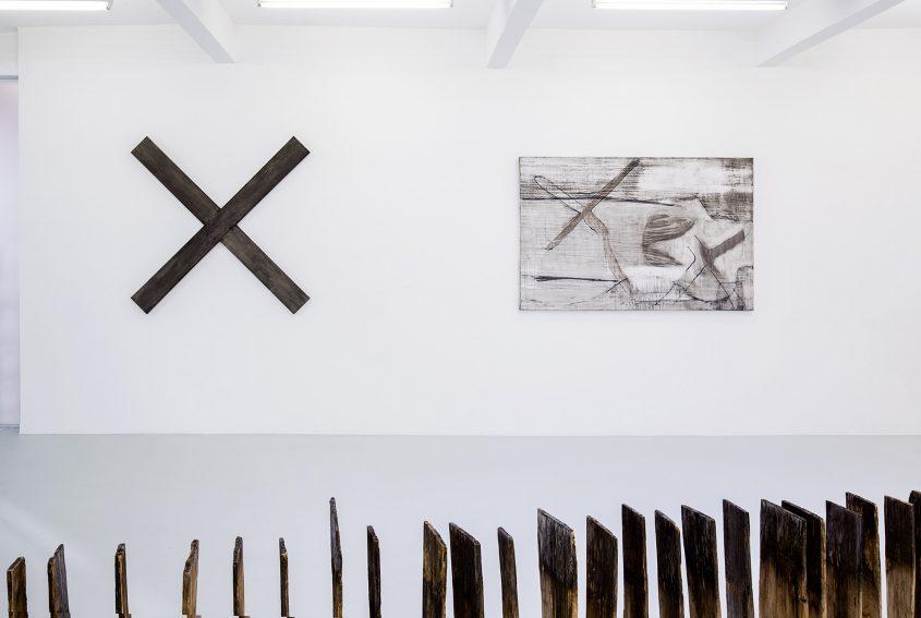 Ausstellungsansicht 1 // set in motion // Kunstraum Innsbruck // 2015