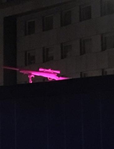 Antigone // Skulptur // Aluminiumguss, pink // 2018